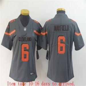 Women Browns #6 Baker Mayfield Jersey